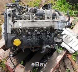 06 Vauxhal Vectra MK5 1.9 CDTI Z19DT engine pump alternator clutch76k postage