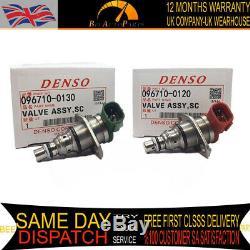 2 x DENSO FUEL PUMP SUCTION CONTROL VALVE Kit SCV VAUXHALL/OPEL 3.0 V6 3.0 CDTI
