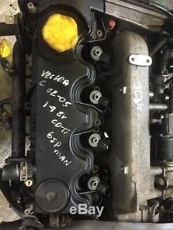 2008 Vauxhall Vectra 1.9 Cdti Diesel Engine + Injectors Z19dt 90k
