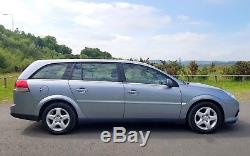 2008 Vauxhall Vectra Estate 1.9 Cdti 120ps Exclusiv 5dr Silver Diesel 6 Speed