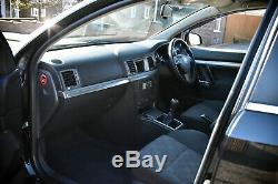 2008 Vauxhall Vectra Sri 1.9 Cdti 150 Black 5 Door 12 Months MOT