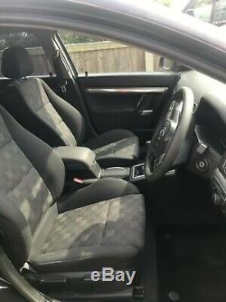2008 vauxhall vectra sri 150bhp 1.9 CDTI 6sp manual 5 door with vxr kit in black