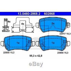 Ate Bremsen 4 Bremsscheiben 8 Bremsbeläge Vorne Hinten Opel Astra H Caravan