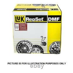 Clutch Kit + CSC for Vauxhall Vectra (C) 1.9 CDTi 120 from 2004 2009 LuK