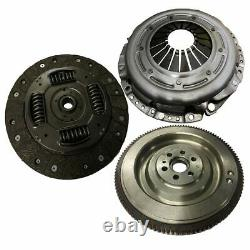 Flywheel, Clutch Kit, Bolts And Csc For Vauxhall Vectra 1.9 Cdti