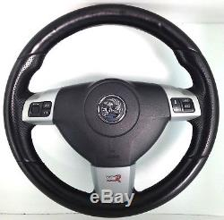 Genuine OEM Vauxhall Opel VXR leather steering wheel. Astra Vectra Zafira 1A