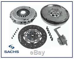 New SACHS Opel Signum, Vectra 1.9 CDTI M32 Dual Mass Flywheel Clutch Kit & CSC