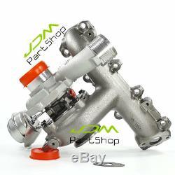 New Turbocharger for Fiat Croma II, Stilo 1.9JTD / Saab 9-3 Z19DT 120HP 88KW
