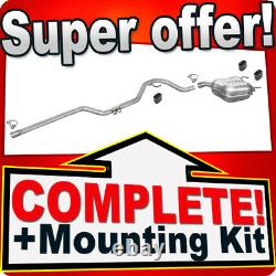 Opel/Vauxhall Vectra C 1.9 CDTi also GTS 2004-09 Silencer Exhaust System N41