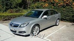 Silver Vauxhall Vectra SRI CDTI 150A DIESEL Automatic 1.9L