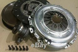 Smf Flywheel And Clutch Kit With Csc For Vauxhall Vectra 120 Z19dt 1.9 Cdti M32