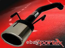 Sportex performance exhaust Vectra C CDTi back box delete tailpipe 2002-2008