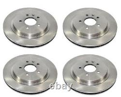 VAUXHALL VECTRA C 3.0 CDTi + 3.2 GSi 02-09 FRONT AND REAR BRAKE DISCS SET NEW