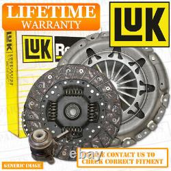 Vauxhall Astra H Mk5 1.7 Cdti Luk 3 Part Clutch Kit Set 99 Bhp Z17Dth 2004