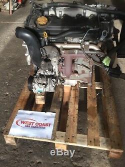 Vauxhall Astra Zafira Vectra 1.9 Cdti 8v 120bhp Z19DT Engine