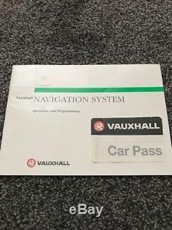 Vauxhall Astra (g) Mk4 Ncdr 1100 Sat Nav Colour Screen Vectra B Zafira Dti Cdti