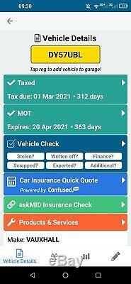 Vauxhall Vectra 1.9 CDTI 16v (150ps) Sri Estate