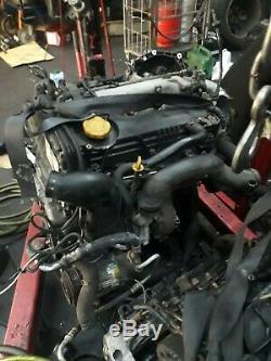 Vauxhall Vectra Astra Zafira- Alfa- Saab 1.9 Cdti 120bhp Z19dth Complete Engine