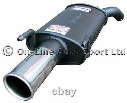 Vauxhall Vectra C 1.9 CDTi Sportex Exhaust Tailbox Single 3