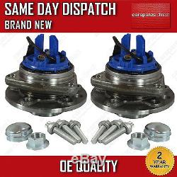 Vauxhall Vectra C 1.9 Cdti Front 2x Wheel Bearing Hub With Abs/ids 05-09 New