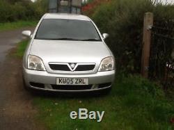 Vauxhall Vectra CDTi estate. 2005