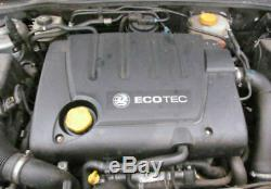 Vauxhall Z19dt Engine 120 Bhp 1.9 Cdti Vectra C + Zafira + Astra H 83.000 Miles