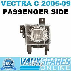 Vectra C Facelift Front Fog Lamp Spot Light Foglight Passenger Nearside Sri Cdti