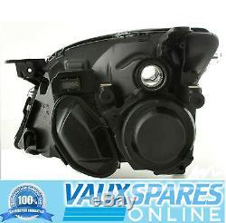 Vectra C Pre Facelift Front Black Sports Headlight Drivers Off Side Sri Cdti Etc